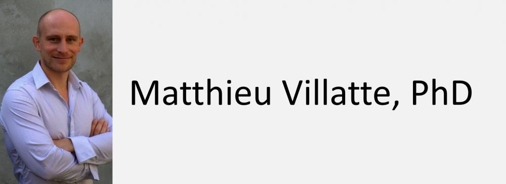Matthieu Villatte, PhD